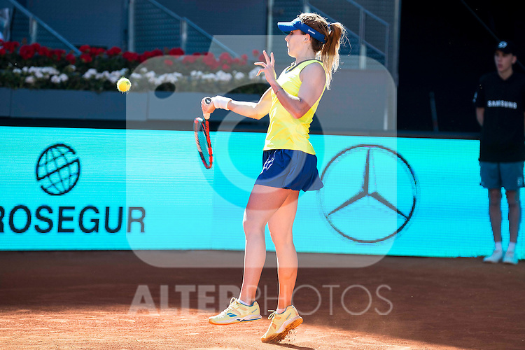 French Alize Cornet during Mutua Madrid Open Tennis 2016 in Madrid. May 2, 2016. (ALTERPHOTOS/BorjaB.Hojas)