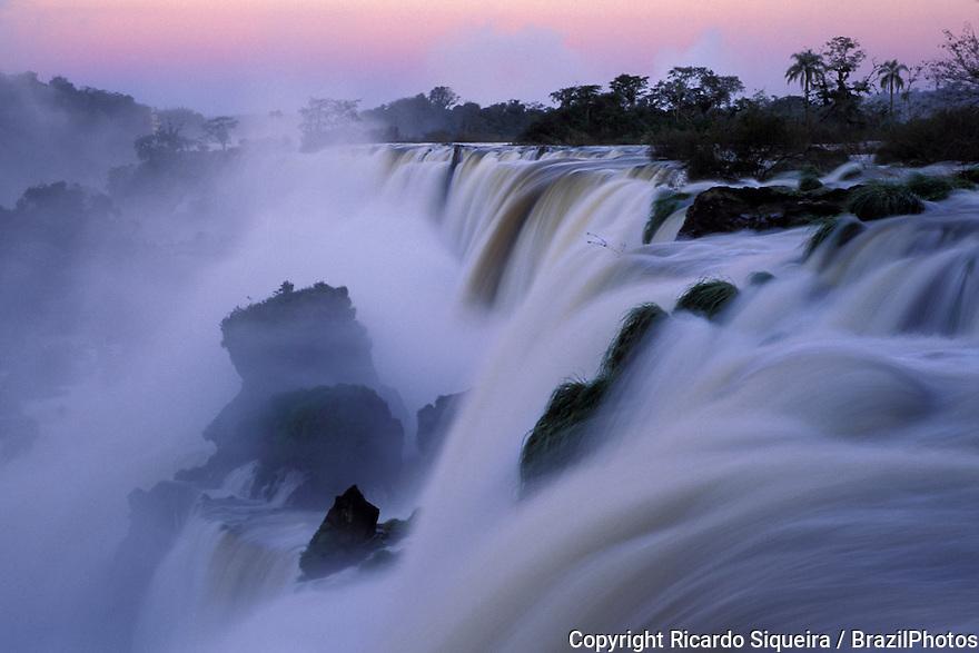 Iguazu Falls, border of Brazil and Argentina.