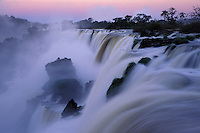 Iguazu Falls, border of Brazil and Argentina.