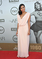 Rosario Dawson at the 2014 American Film Institute's Life Achievement Awards honoring Jane Fonda, at the Dolby Theatre, Hollywood.<br /> June 5, 2014  Los Angeles, CA<br /> Picture: Paul Smith / Featureflash