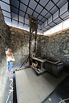 Asia, Vietnam, Ho Chi Minh City (Saigon). War Remnants Museum on Vo Van St. District 3. Located in the former US Information Service building the museum exhibition documents the Vietnam war from a thoughtprovoking vietnamese perspective. Even a french guillotine is on display - which was last used in 1960 ...