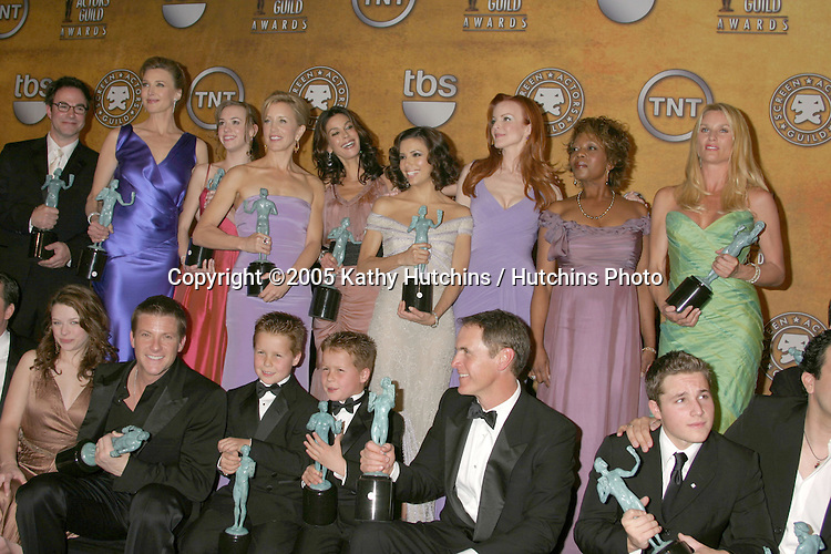 Desperate Housewives.12th Annual Screen Actors Guild  Awards.Shrine Auditorium.Los Angeles, CA.January 29, 2006.©2006 Kathy Hutchins / Hutchins Photo....