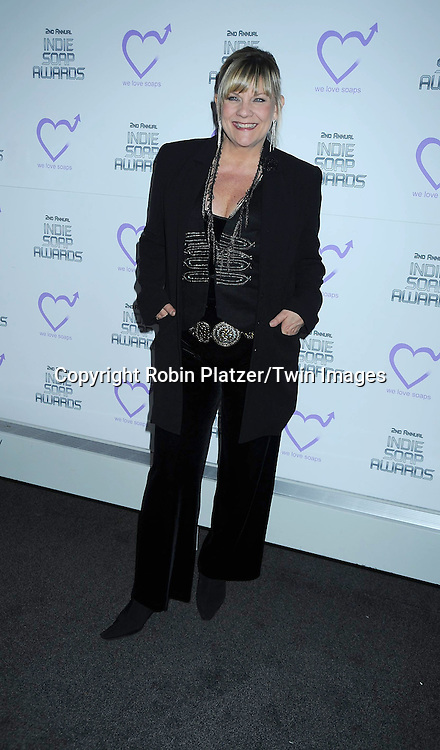 Kim Zimmer attending The 2nd Annual Indie Soap Awards on February 21, 2011 at The Alvin Ailey Studios in  New York City sponsored by We Love Soaps.