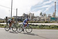 Javier Aramendia (l) and Adrian Palomares during the stage of La Vuelta 2012 between Ponteareas and Sanxenxo.August 28,2012. (ALTERPHOTOS/Acero) /NortePhoto.com<br /> <br /> **CREDITO*OBLIGATORIO** <br /> *No*Venta*A*Terceros*<br /> *No*Sale*So*third*<br /> *** No*Se*Permite*Hacer*Archivo**<br /> *No*Sale*So*third*