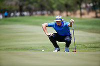Tapio Pulkkanen (FIN) during the 2nd round at the Nedbank Golf Challenge hosted by Gary Player,  Gary Player country Club, Sun City, Rustenburg, South Africa. 09/11/2018 <br /> Picture: Golffile | Tyrone Winfield<br /> <br /> <br /> All photo usage must carry mandatory copyright credit (&copy; Golffile | Tyrone Winfield)