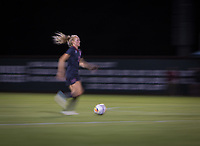 STANFORD, CA - August 10, 2018: Sierra Enge at Laird Q. Cagan Stadium. The Stanford Cardinal defeated the Fresno State Bulldogs 4-0.