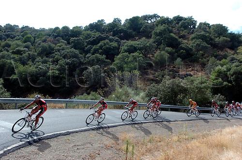 14th September 2009, Vuelta a Espana, Spain, stage 15 Jaen - Cordoba, Caisse d'Epargne, Valverde Alejandro, Alto de San Jeronimo. Photo: Stefano Sirotti/ActionPlus.