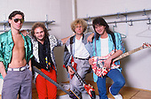 VAN HALEN, MAY, 1986, WILLIAM HAMES