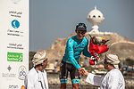 Miguel Angel Lopez Moreno (COL) Astana Pro Team 2nd overall after Stage 6 of the 2018 Tour of Oman running 135.5km from Al Mouj Muscat to Matrah Cornich. 18th February 2018.<br /> Picture: ASO/Muscat Municipality/Kare Dehlie Thorstad | Cyclefile<br /> <br /> <br /> All photos usage must carry mandatory copyright credit (&copy; Cyclefile | ASO/Muscat Municipality/Kare Dehlie Thorstad)