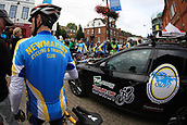 8th September 2017, Newmarket, England; OVO Energy Tour of Britain Cycling; Stage 6, Newmarket to Aldeburgh; Enthusiast's all round come out to watch the start of the Tour of Britain