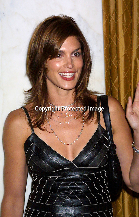@2003 KATHY HUTCHINS / HUTCHINS PHOTO AGENCY.FRIENDS OF THE FAMILY 7TH ANNUAL BENEFIT.REGENT BEVERLY WILSHIRE HOTEL.BEVERLY HILLS, CA.MAY 30, 2003..CINDY CRAWFORD
