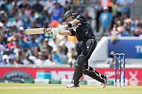 Martin Guptill (New Zealand) flays the ball to the boundary during India vs New Zealand, ICC World Cup Warm-Up Match Cricket at the Kia Oval on 25th May 2019