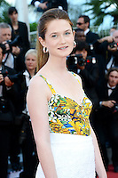 "Bonnie Wright attending the ""On the Road"" Premiere during the 65th annual International Cannes Film Festival in Cannes, 23.05.2012...Credit: Timm/face to face"