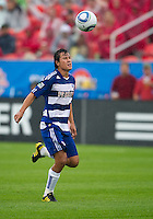 July 24, 2010  FC Dallas forward Milton Rodriguez #7 in action during a game between FC Dallas and Toronto FC at BMO Field in Toronto..Final score was 1-1.