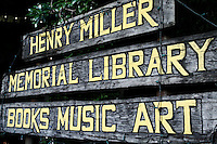 henry miller memorial library, big sur