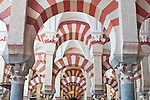 Europe, Spain, Andalucia, Cordoba, La Mezauita-Catedral (Catedral Mosque of Cordoba) Interior