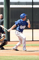 Jeff Hunt - Los Angeles Dodgers - 2010 Instructional League.Photo by:  Bill Mitchell/Four Seam Images..