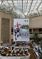 SIGNAGE AT THE HILTON HOTEL<br /> <br /> TENNIS - ROLEX SHANGHAI MASTERS - QI ZHONG TENNIS CENTER - MINHANG DISTRICT - SHANGHAI - CHINA - ATP 1000 - 2016  <br /> <br /> <br /> <br /> &copy; TENNIS PHOTO NETWORK
