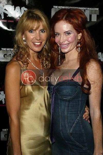 Julia Verdin and Phoebe Price<br />at the Giant Magazine First Anniversary Party. Rokbar, Hollywood, CA. 09-14-05<br />Jason Kirk/DailyCeleb.com 818-249-4998