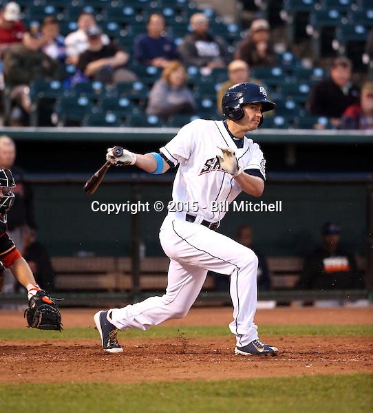 Logan Schafer -2015 Colorado Springs Sky Sox (Bill Mitchell)