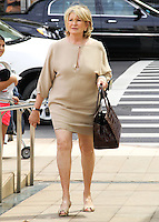 NEW YORK CITY, NY, USA - SEPTEMBER 03: Martha Stewart arrives at the 8th Annual Fashion Award Honoring Carolina Herrera held at the David H. Koch Theater at Lincoln Center on September 3, 2014 in New York City, New York, United States. (Photo by Jeffery Duran/Celebrity Monitor)