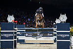 Michael Whitaker of Great Britain riding Calisto Blue competes in the Longines Grand Prix during the Longines Masters of Hong Kong at AsiaWorld-Expo on 11 February 2018, in Hong Kong, Hong Kong. Photo by Diego Gonzalez / Power Sport Images