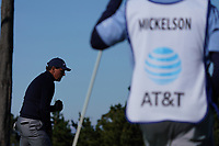Phil Mickelson (USA) in action at Spyglass Hill during the first round of the AT&T Pro-Am, Pebble Beach Golf Links, Monterey, California, USA. 06/02/2020<br /> Picture: Golffile | Phil Inglis<br /> <br /> <br /> All photo usage must carry mandatory copyright credit (© Golffile | Phil Inglis)