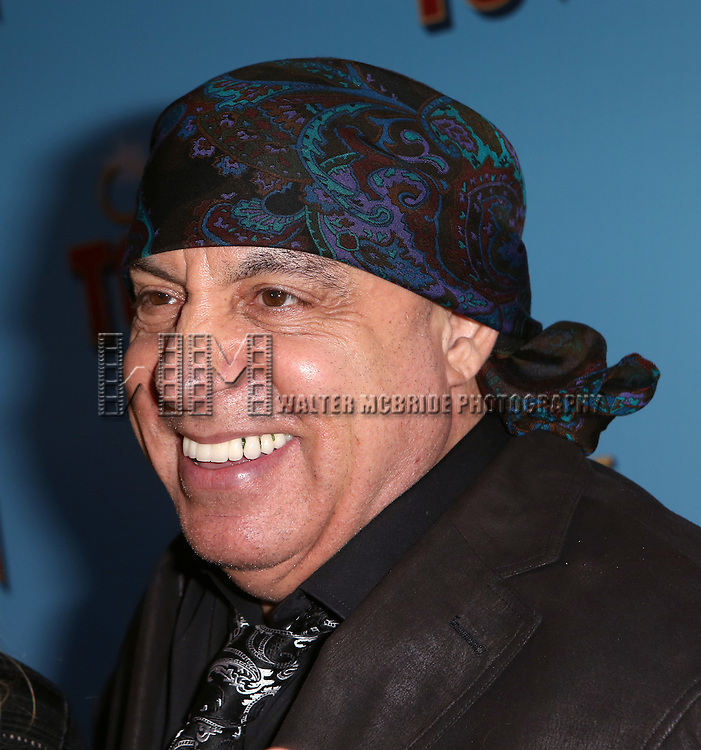 Steven Van Zandt attends the Broadway Opening Night Performance of 'On The Town'  at the Lyric Theatre on October 16, 2014 in New York City.