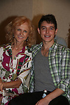 Jill Larson & Daniel Kennedy attend All My Children Fan Luncheon on September 13, 2009 at the New York Helmsley Hotel, NYC, NY. (Photo by Sue Coflin/Max Photos)
