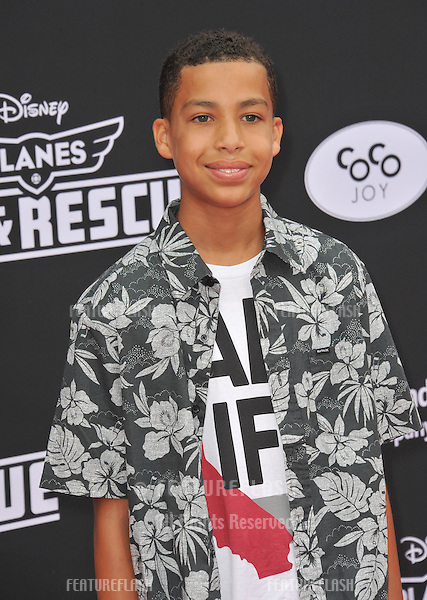 Marcus Scribner at the world premiere of Disney's &quot;Planes: Fire &amp; Rescue&quot; at the El Capitan Theatre, Hollywood.<br /> July 15, 2014  Los Angeles, CA<br /> Picture: Paul Smith / Featureflash