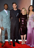"""LOS ANGELES, CA: 24, 2020: Aldis Hodge, Oliver Jackson-Cohen, Elisabeth Moss, & Storm Reid at the premiere of """"The Invisible Man"""" at the TCL Chinese Theatre.<br /> Picture: Paul Smith/Featureflash"""