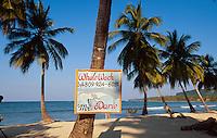 Dominikanische Republik, Playa Las Galeras auf der Samana-Halbinsel, whale-watching