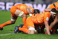 DURBAN, SOUTH AFRICA - JULY 14: Marcos Kremer of the Jaguares during the Super Rugby match between Cell C Sharks and Jaguares at Jonsson Kings Park on July 14, 2018 in Durban, South Africa. Photo: Steve Haag / stevehaagsports.com