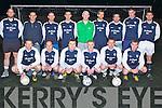 TEAM: Athletico Ardfert soccer team, in training on Wednesday night on the all weather pitch in Mounthawk Park, Tralee. Front l-r: Damian Wallace, Niall Clifford, Damien Kelly, Steven Horan, Eamon Ferris and John Breen. Back l-r: Derek O'Hanlon, Tony Neary, Daniel Dowling, Martin Deady, Cianan Ferris, Paudi O'Sullivan, George O'Sullivan, Cillian Moran and Owen McCarthy.......... . ............................... ..........
