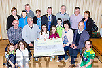 Gneeveguilla AC presents €14,800 to its lotto winners Shanua and Michelle McCarthy in the GAA bar on Monday evening front row l-r: Chloe, Abby and Tara O'Leary. Middle row: Michael McCarthy, Tom Joe O'Donoghue, Shauna, Michelle and Maura McCarthy Aeneas O'Leary. Back row: Mary Crowley, Jack O'Leary, Andrew McCarthy, Noreen McCarthy, John Crowley Dan O'Donoghue Oisin O'Leary, Michael Dillane and Margaret dillane