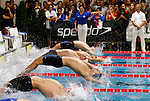 US Olympic's Ryan Lochte competes during the swimming competition Swimmeeting at Bolzano / Bozen , on November 8, 2014.
