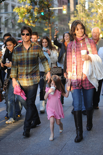 WWW.ACEPIXS.COM . . . . . ....October 11 2009, Boston....Suri Cruise goes back to her hotel in Boston with her mother Katie Holmes and her father Tom Cruise. Tom Cruise is in Boston shoot a movie. October 11 2009, Boston, MA....Please byline: KRISTIN CALLAHAN - ACEPIXS.COM.. . . . . . ..Ace Pictures, Inc:  ..(212) 243-8787 or (646) 679 0430..e-mail: picturedesk@acepixs.com..web: http://www.acepixs.com