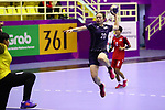 Natsumi Akiyama (JPN), <br /> AUGUST 30, 2018 - Handball : <br /> Women's Bronze Medal Match <br /> between Japan 43-14 Thailand <br /> at GOR Popki Cibubur <br /> during the 2018 Jakarta Palembang Asian Games <br /> in Jakarta, Indonesia. <br /> (Photo by Naoki Nishimura/AFLO SPORT)