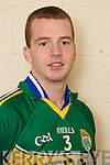 Dara OSuilleabhain member of the Kerry U-21 panel 2012