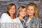 Mary Corkery, Helena Brennan and Geraldine Parker Kilflynn looking for some summer trends at the Kerry Fashion Week fashion show in Jack's restaurant Cromane on Thursday evening..