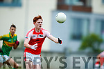 South Kerry in action against Mikey Boyle Dingle in the Quarter Final of the Kerry Senior County Championship at Austin Stack Park on Sunday.