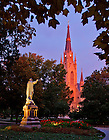 Oct. 15, 2013; Main Quad at dawn<br /> <br /> Photo by Matt Cashore/University of Notre Dame