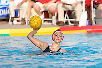 10 May 2008: Stanford Cardinal Kira Hillman during Stanford's 10-6 loss against the USC Trojans in the National Collegiate Women's Water Polo Tournament semifinal game at Avery Aquatic Center in Stanford, CA.