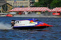 Jose Mendana's Grand Prix/Mercury F1/Formula 1 class.Bay City River Roar, Bay City,Michigan USA.26-2821 June, 2009..©F. Peirce Williams 2009 USA.F.Peirce Williams.photography.ref: RAW (.NEF) File Available