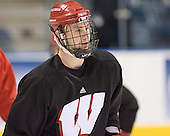 Tom Gorowsky - The University of Wisconsin Badgers practiced on Wednesday, April 5, 2006, at the Bradley Center in Milwaukee, Wisconsin.  The Badgers won the Title by defeating Maine on April 6 and Boston College on April 8.