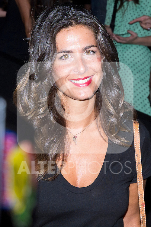 01.09.2012. Celebrities attending the David Delfin fashion show during the Mercedes-Benz Fashion Week Madrid Spring/Summer 2013 at Ifema. In the image Nuria Roca (Alterphotos/Marta Gonzalez)