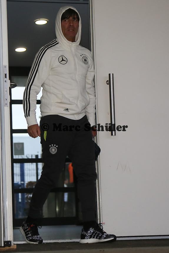 Bundestrainer Joachim Löw - Training der Deutschen Nationalmannschaft, Wurfplatz Berlin