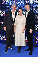 Martin Kemp Shirley Kemp and Roman Kemp<br /> 'Global Awards 2019' at the Hammersmith Palais in London, England on March 07, 2019.<br /> CAP/PL<br /> &copy;Phil Loftus/Capital Pictures