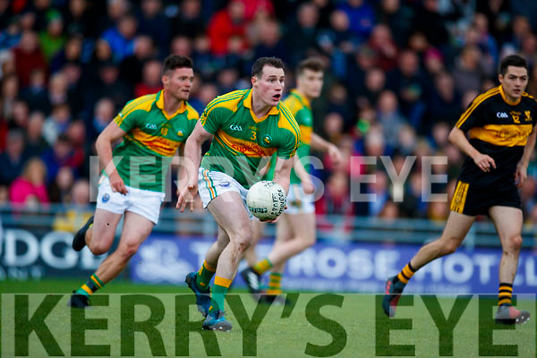 Dr Crokes in action against Mark Griffin South Kerry in the Senior County Football Final in Austin Stack Park on Sunday