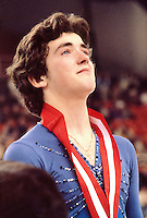Brian Orser Canadian figure skater compete at the 1981 Canadian Championships in Halifax, Canada. Photo copyright Scott Grant.